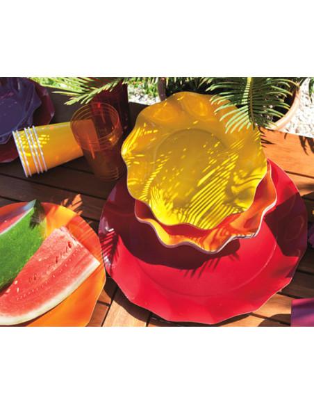 2 Assiette Carton Corolle 21cm - 11 Coloris
