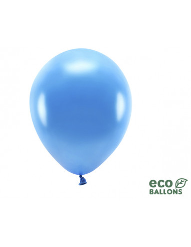 1 100 ballons Latex Biodégradables Bleu 26cm