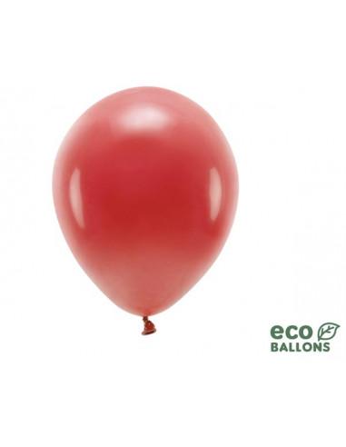 1 100 ballons Latex Biodégradables Rouge 26cm