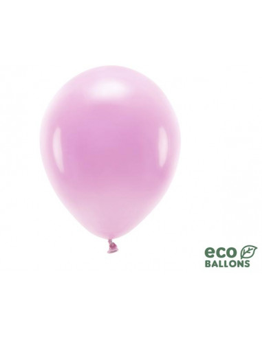 1 100 ballons Latex Biodégradables Rose Pastel 26cm