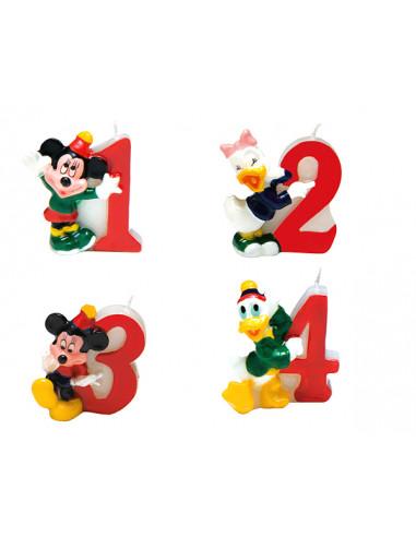 1 Bougie Anniversaire Mickey N°1