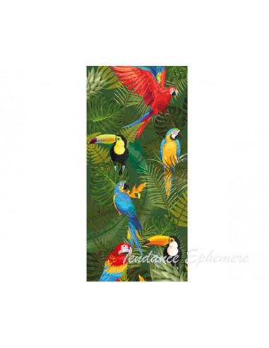1 Chemin de Table Tropical Perroquet 5m
