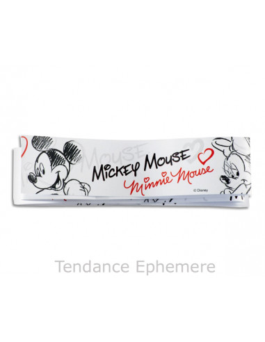 1 Bande de Gâteau Mickey Minnie Black 27cm