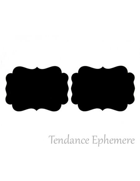 2 Etiquette Adhésive Classique Repositionnable 7,5cm