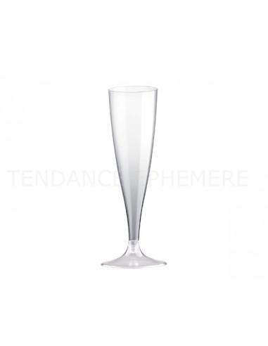 1 Flûte Champagne Plastique Cristal 14cl-10