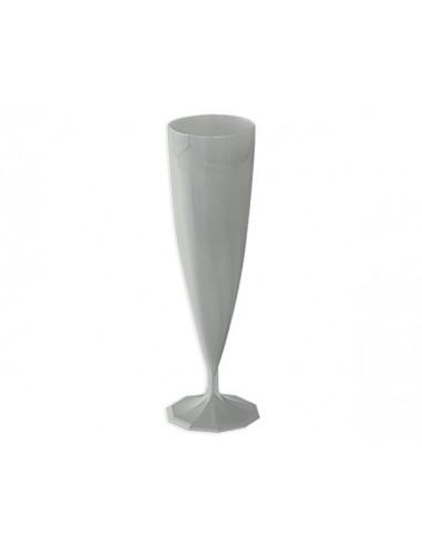 1 Flûte Champagne Design Argent 13,5cl