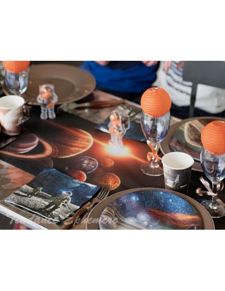 2 Gobelet Carton Astronaute 25cl