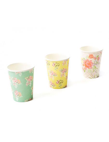 3 Gobelet Carton Tea Time 20cl