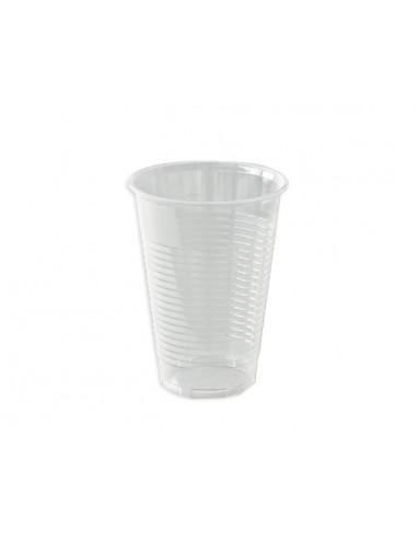 1 Gobelet Plastique PP Translucide 40/50cl Strié-80