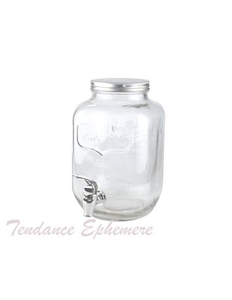 3 Limonadier Verre 4L