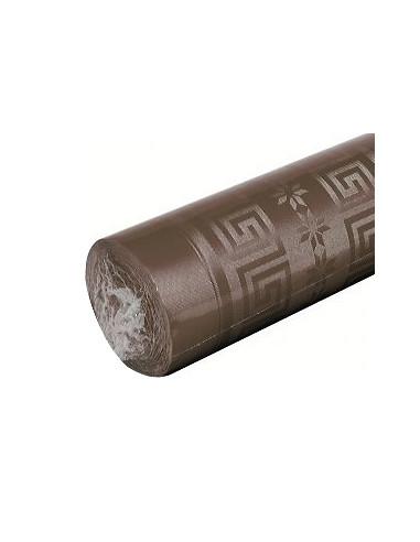 1 Nappe Damassée Chocolat 6m