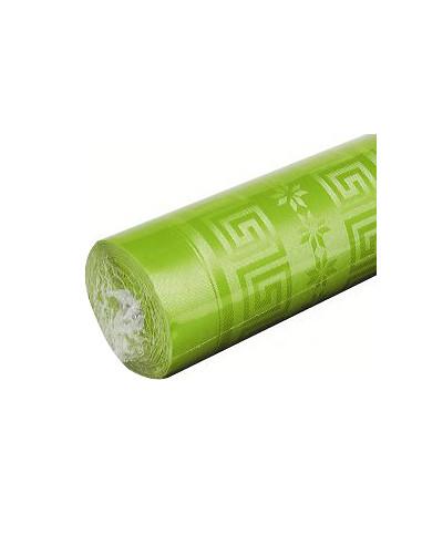 1 Nappe Damassée Vert Anis 6m