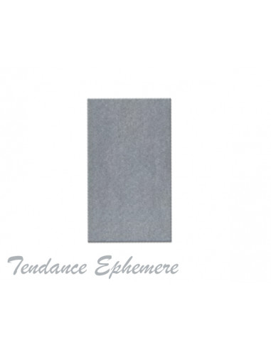 1 Nappe Papier Intissé Grise 1.60x2.40m