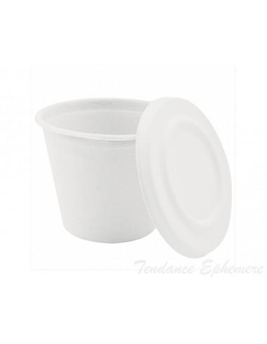 1 Pot Rond Canne a Sucre 425ml + Couvercle