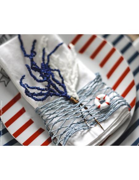 1 Ruban Filet de Marin Bleu 1m
