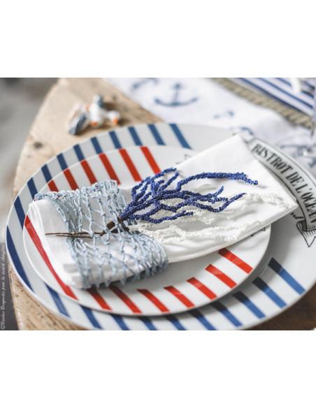 2 Ruban Filet de Marin Bleu 1m