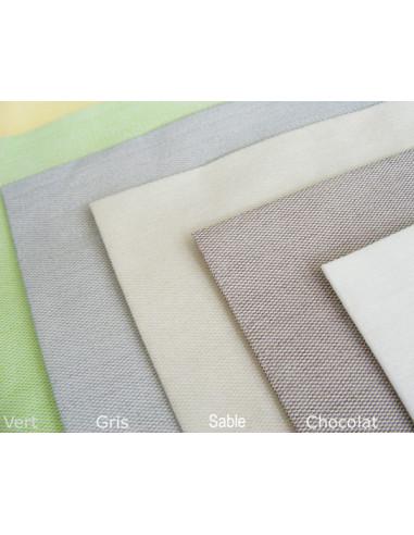1 Serviette Effet Tissu Sable 40cm