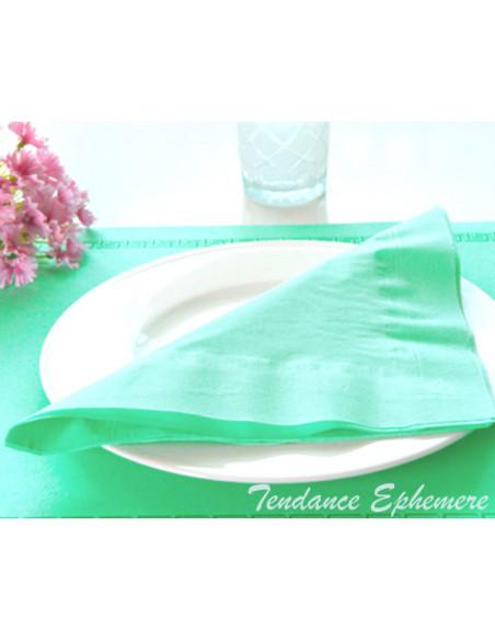 2 Serviette Ouate Couleur 39cm - 16 Coloris