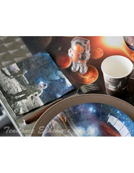 1 Serviette Papier Astronaute
