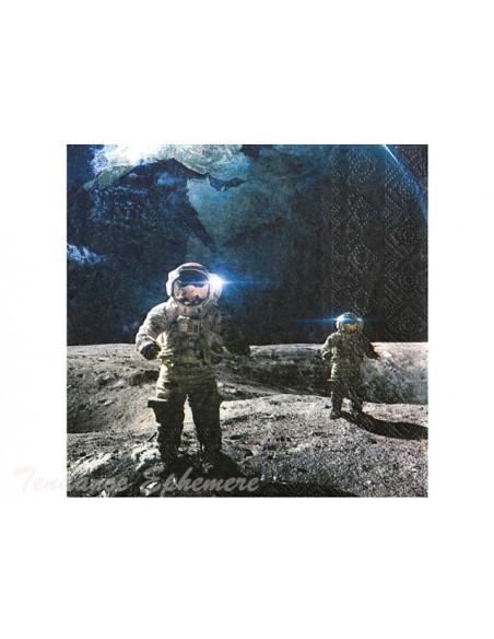 3 Serviette Papier Astronaute