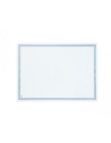 1 Set de Table Papier Blanc - Liseré 500