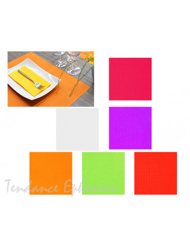 1 Set de Table Spunbond Luxe 30x40cm - 5 Coloris