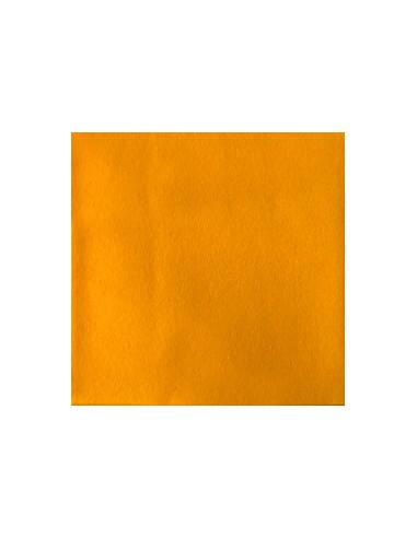 1 Serviette Intissée Orange 40cm - 50