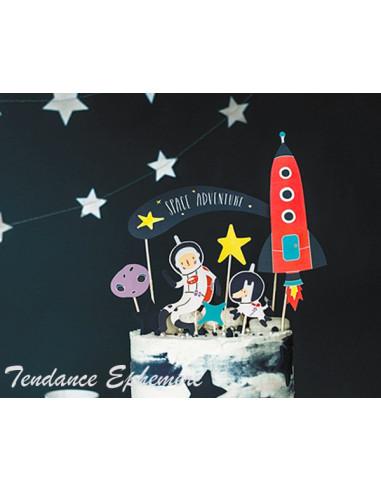1 Topper Gateau Astronaute