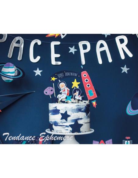 2 Topper Gateau Astronaute
