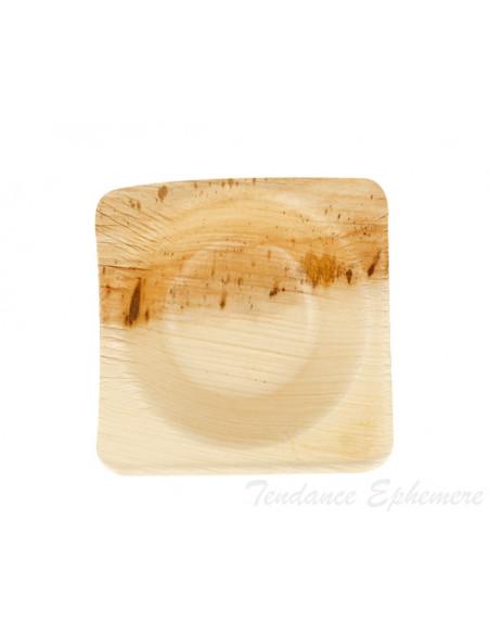 3 Verrine Biodégradable Palmier Design 5cm