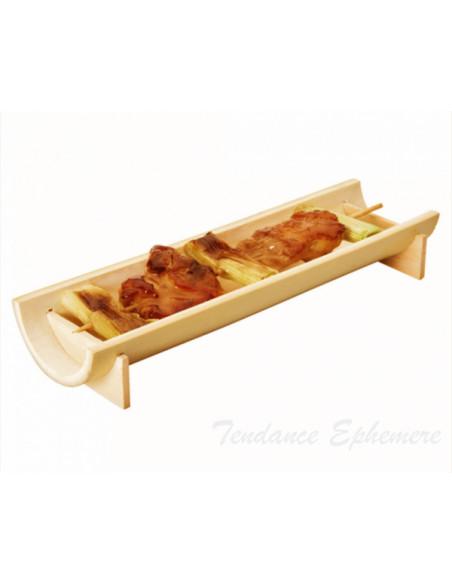 1 Verrine Bambou Demi Tube 20cm
