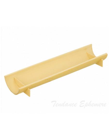 2 Verrine Bambou Demi Tube 20cm