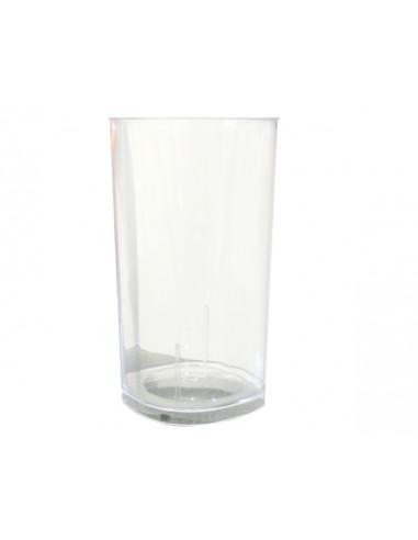 1 Verre Tube Plastique Cristal 30cl