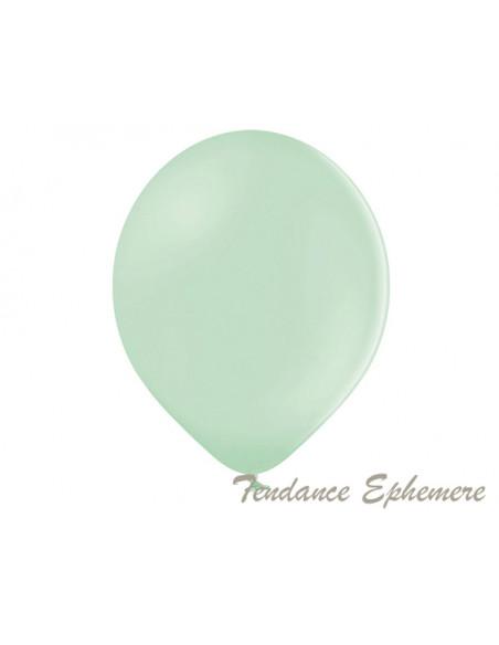 3 50 Ballons Pistache Pastel 30cm