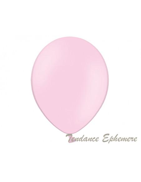 2 50 Ballons Rose Pastel Bébé 30cm