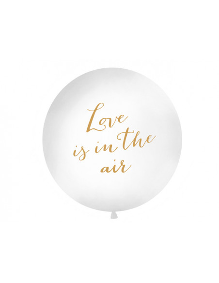 2 Ballon Géant Love is in the Air 1m