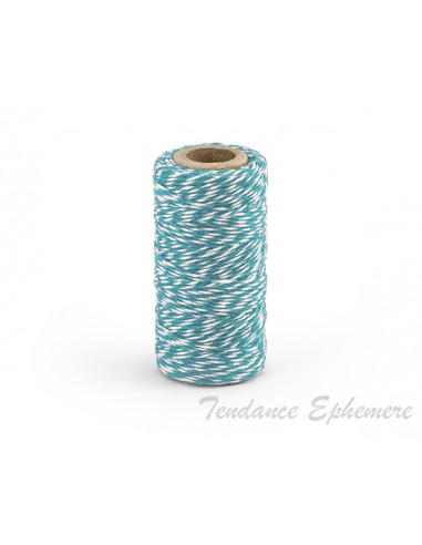 1 Baker Twine Bleu Turquoise 50m