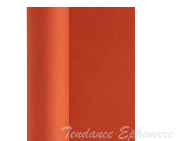 Nappe Papier Intisse Terracotta 10m