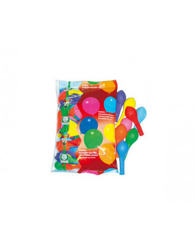 1 100 Ballons Multicolores 25cm