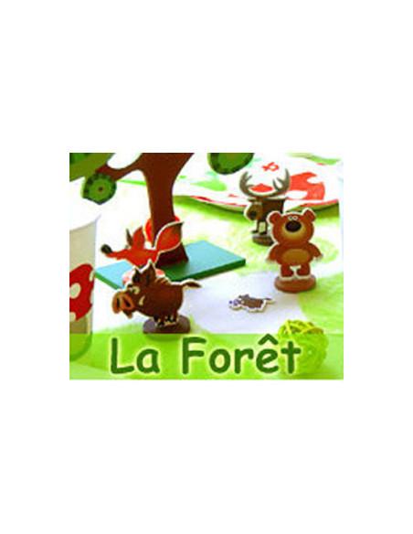 Thème Animaux de la Forêt