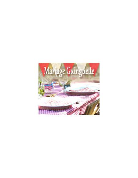 Mariage Thème Guinguette