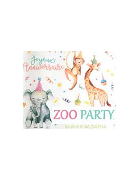 Thème Anniversaire Zoo